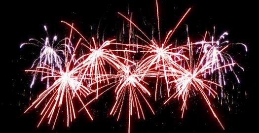 fireworks seamless loop Animation