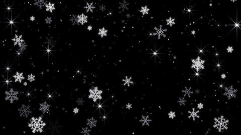 magic snowfall seamless loop 4k (4096x2304) Animation