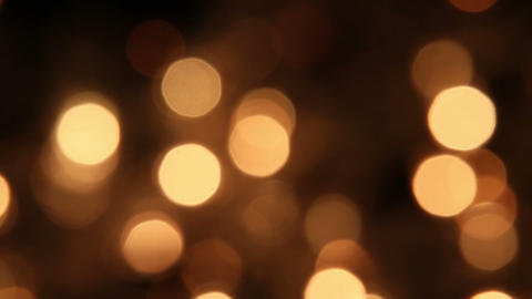 slowly blinking christmas lights bokeh seamless loop background Footage