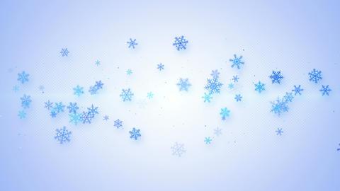 christmas animation with snowflakes seamless loop 4k (4096x2304) Animation