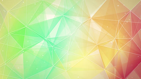multicolor triangles and lines pattern loopable 4k (4096x2304) Animation
