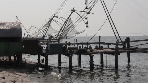 Series Of Chinese Fishing Nets Fort Kochi India 0