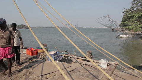 Series Of Chinese Fishing Nets Fort Kochi India 2