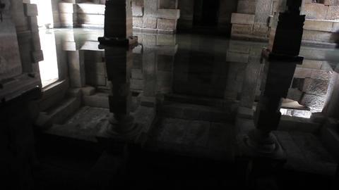 Flooded Indian Temple Hampi India