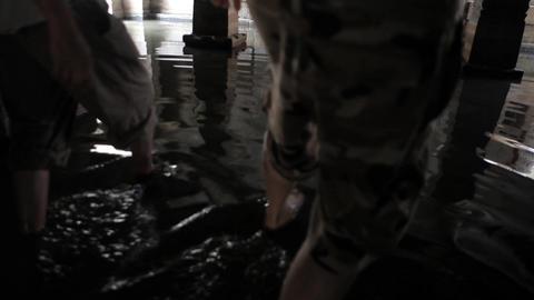 Flooded Indian Temple Hampi India 1