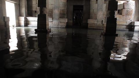 Flooded Indian Temple Hampi India 2