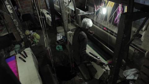 Silk Factory In Varanasi India