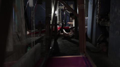 Silk Factory In Varanasi India 0