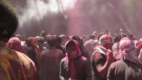 Holi - Festival Of Colours. Day 2nd 2