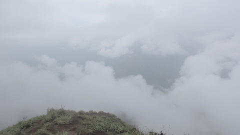 Landscapes in Munnar, India Footage