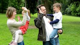 Family In Park 1