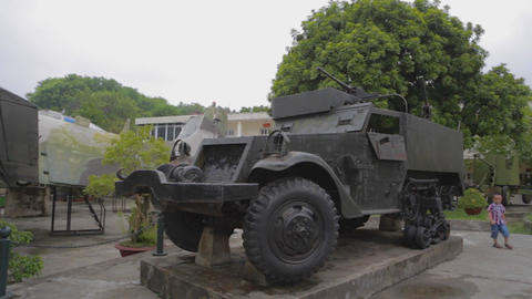 pan - military vehicle - Vietnam Military History Museum Live Action