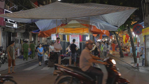 hanoi night market Live Action