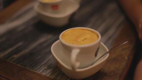 Macro - Hanoi egg coffee Live影片