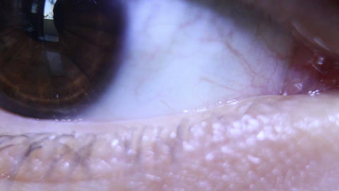 Human Eye Supercloseup stock footage