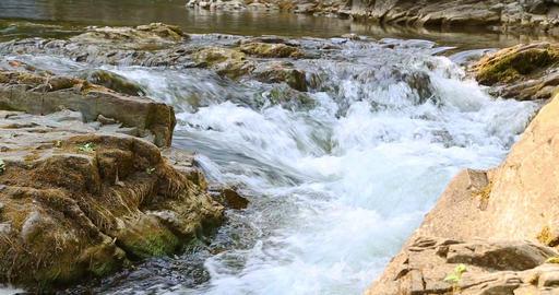 Sheshory Waterfalls Ukraine.