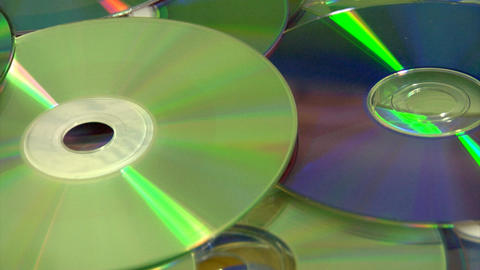 compact discs Footage