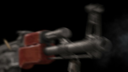 Kalashnikov Automatic Rifle AK-47 stock footage