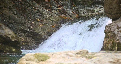 Bukovina Waterfalls Roztoky Ukraine. 0