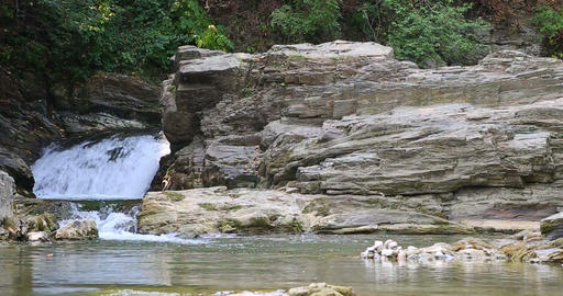 Sheshory Waterfalls Ukraine. 2