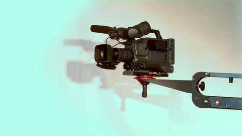 TV Camera stock footage