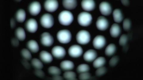light disco ball 01 Stock Video Footage