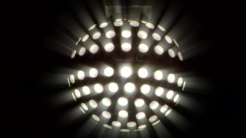 light disco ball 03 Footage