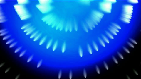 whirl fiber optic and bubble,blue cable rays laser light... Stock Video Footage