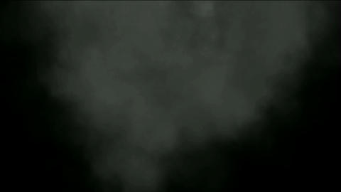dark smoky cloud in space Stock Video Footage