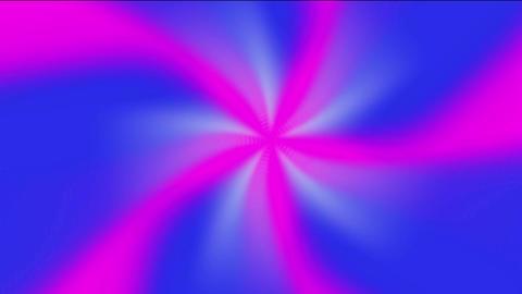 rotation ribbon & windmill fan,rays laser light & aurora tech energy field Animation
