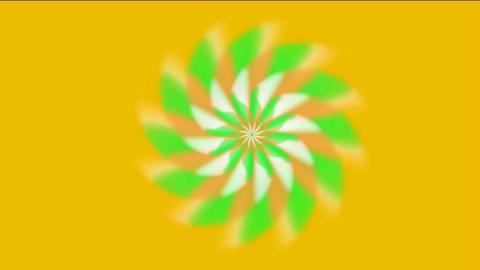 rotation gear & flower pattern,laser light rays in... Stock Video Footage