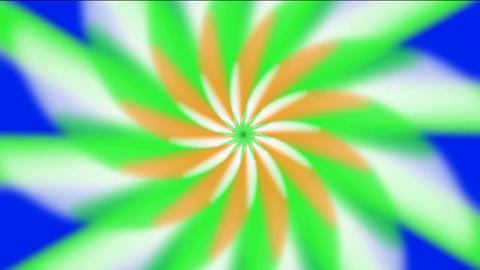 whirl rotation gear & flower pattern,laser light rays in space,windmill,aurora,tech energy field Animation
