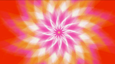 pink swirl fiber optic & windmill,Buddhism Mandala lotus... Stock Video Footage