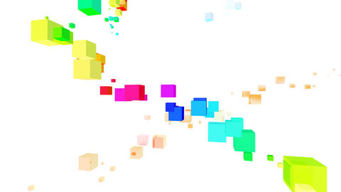 Colorful box Rbw2 HD Animation