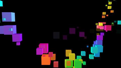 Colorful box Sbb2 HD Stock Video Footage