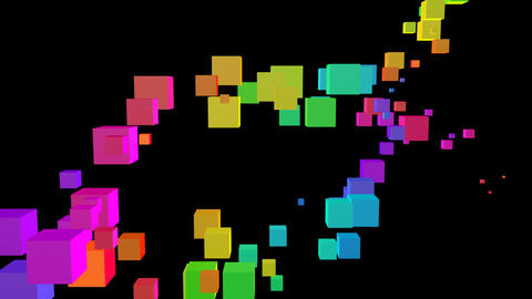 Colorful box Sbb2 HD Animation