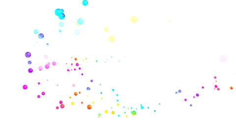 Colorful dot Fsw1 HD Stock Video Footage