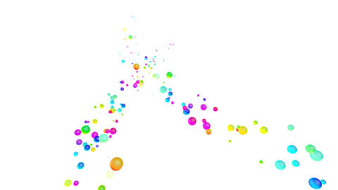 Colorful dot Rsw1 HD Stock Video Footage