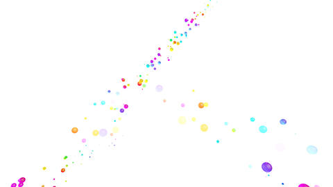 Colorful dot Rsw1 HD Animation