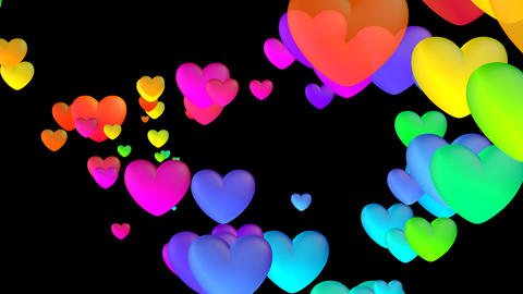 Colorful Heart Fhb2 HD Animation