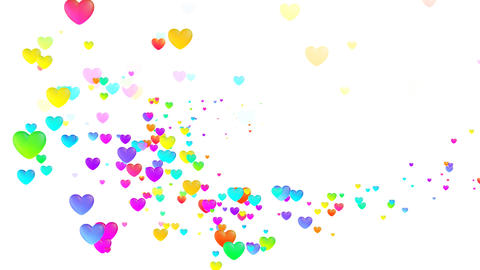 Colorful Heart Fhw1 HD Animation