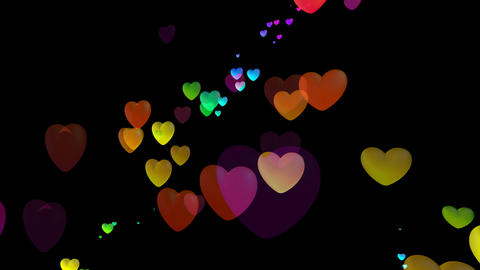Colorful Heart Rhb2 HD Animation