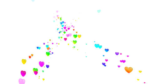Colorful Heart Rhw1 HD Stock Video Footage