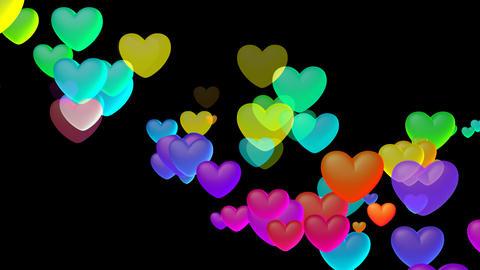 Colorful Heart Shb2 HD CG動画