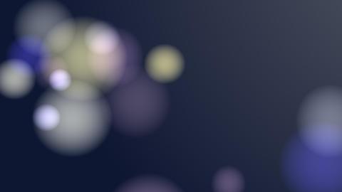 Bllured Lights Background (Blue) Animation