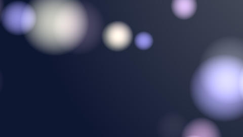 Bllured Lights Background (Blue) Stock Video Footage