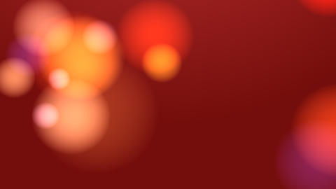 Bllured Lights Background (Red) Stock Video Footage