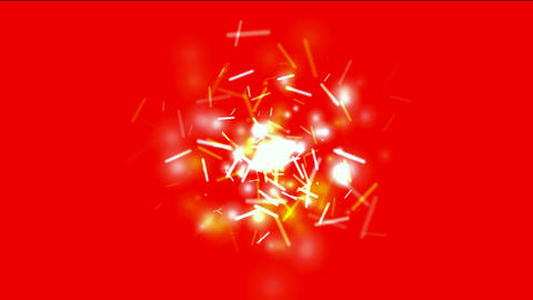 golden swirl lights,dazzling sticks & particle flying,matches,holiday,wind,Firecracker Animation