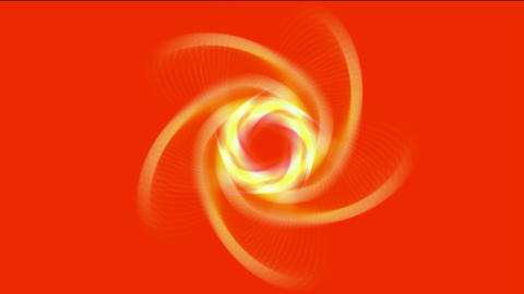 swirl gear vortex space tunnel hole and fire rays... Stock Video Footage