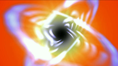 swirl curve light around black hole,tech energy laser field in Universe space,Galaxy,Milky Way,nebul Animation